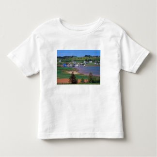 N.A. Canada, Prince Edward Island. Boats are Toddler T-shirt