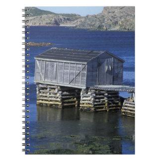 N.A., Canadá, Terranova, Durrell. Pesca Libros De Apuntes Con Espiral