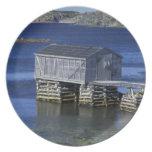 N.A., Canadá, Terranova, Durrell. Pesca Plato De Cena