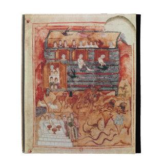 N.A.L 2334 fol.10v Noah's Ark, from 'De Tours Pent iPad Folio Case