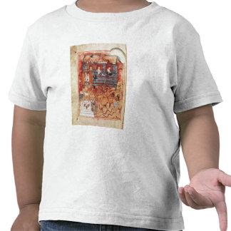 N.A.L 2334 fol.10v Noah's Ark, from 'De Tours Pent Shirt