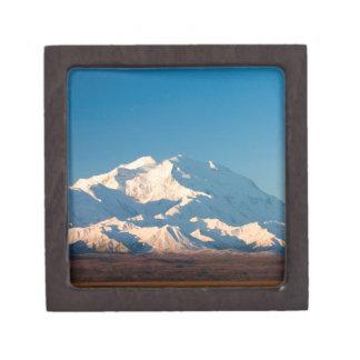 N.A., los E.E.U.U., Alaska.  El monte McKinley en  Cajas De Regalo De Calidad