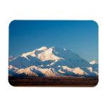 N.A., los E.E.U.U., Alaska.  El monte McKinley en  Imán De Vinilo