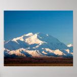 N.A., los E.E.U.U., Alaska.  El monte McKinley en  Póster