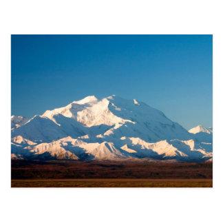 N.A., los E.E.U.U., Alaska.  El monte McKinley en Postal