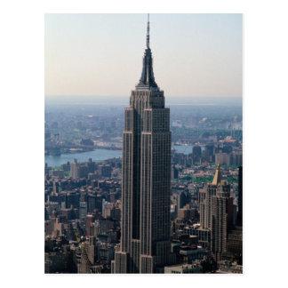 N A los E E U U Nueva York New York City El Tarjeta Postal