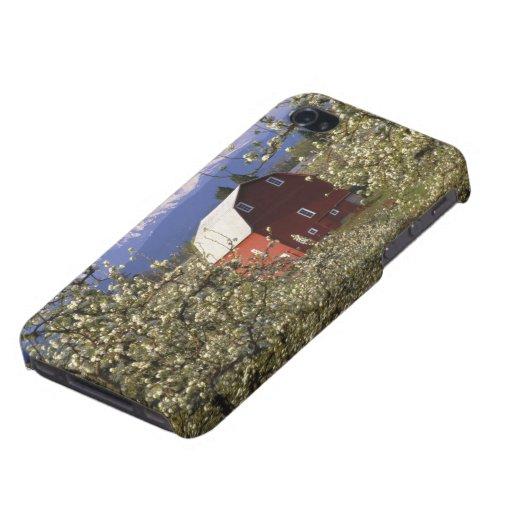 N.A., los E.E.U.U., Oregon, el condado de Hood Riv iPhone 4/4S Carcasas