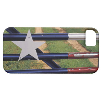 N A los E E U U Tejas lago Buchanan bandera iPhone 5 Case-Mate Funda