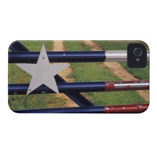 N A los E E U U Tejas lago Buchanan bandera Case-Mate iPhone 4 Carcasas