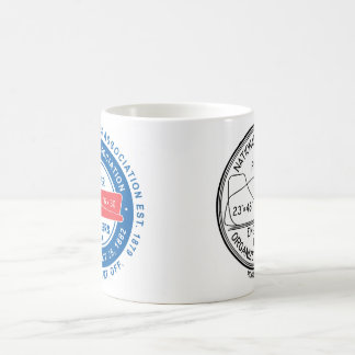 N.A.P.E. Dual Logo White Mug