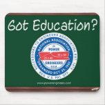 N.A.P.E. Education Logo Mousepad