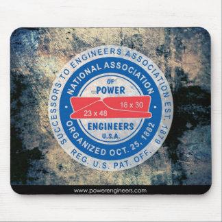 N.A.P.E. Ice Logo Mousepad