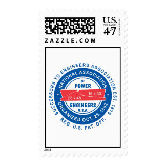 N.A.P.E. Logo Postage Stamps