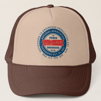 N.A.P.E. Tan/Brown Trucker Hat