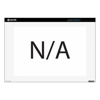 N/A DECALS FOR LAPTOPS