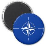 N.A.T.O. flag 2 Inch Round Magnet