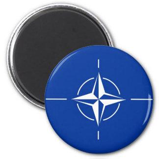 N.A.T.O. flag Magnet