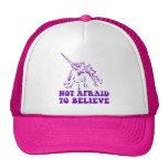 N.A.U.B no asustado creer unicornio Gorra