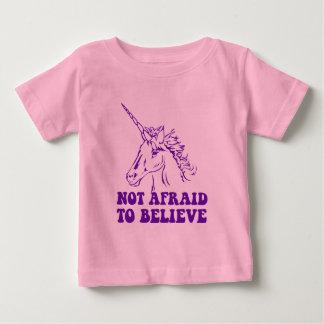 N.A.U.B Not Afraid To Believe Unicorn Baby T-Shirt