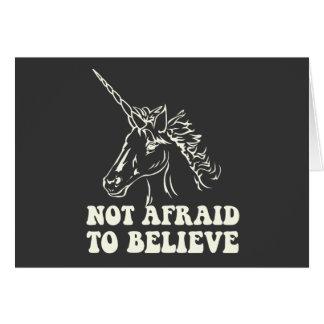 N.A.U.B Not Afraid To Believe Unicorn Card