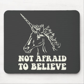 N.A.U.B Not Afraid To Believe Unicorn Mouse Pad