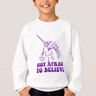 N.A.U.B Not Afraid To Believe Unicorn Sweatshirt