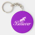 N.A.U.B Unicorn Believers Keychains