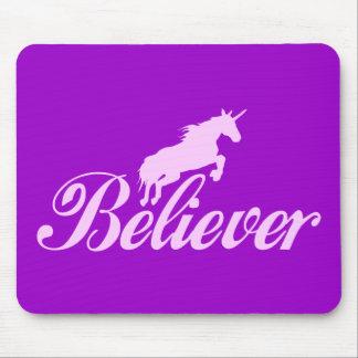 N.A.U.B Unicorn Believers Mouse Pad