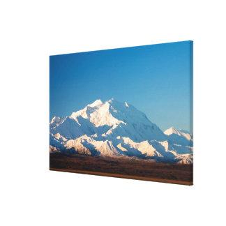 N.A., USA, Alaska.  Mt. McKinley in Denali Stretched Canvas Print