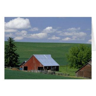 N.A., USA, Idaho, Latah county near Genesee. Greeting Cards