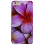 N.A., USA, Maui, Hawaii. Pink Plumeria blossoms. Barely There iPhone 6 Plus Case