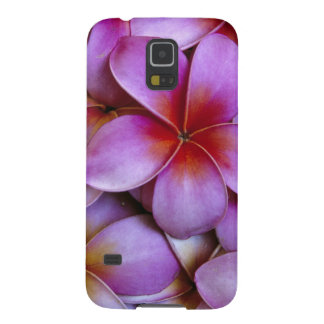 N.A., USA, Maui, Hawaii. Pink Plumeria blossoms. Case For Galaxy S5