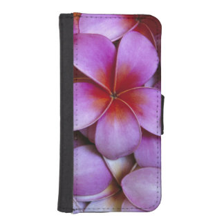 N.A., USA, Maui, Hawaii. Pink Plumeria blossoms. Phone Wallet Case