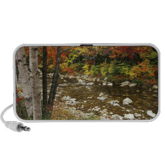 N.A., USA, New Hampshire, White Mountains, iPod Speaker