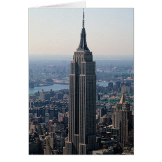 N.A., USA, New York, New York City. The Empire Card