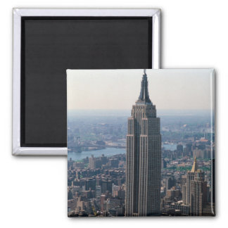 N.A., USA, New York, New York City. The Empire 2 Inch Square Magnet