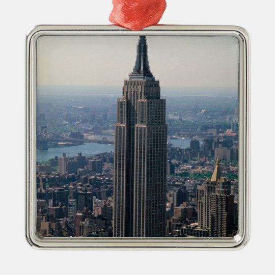 N.A., USA, New York, New York City. The Empire Metal Ornament