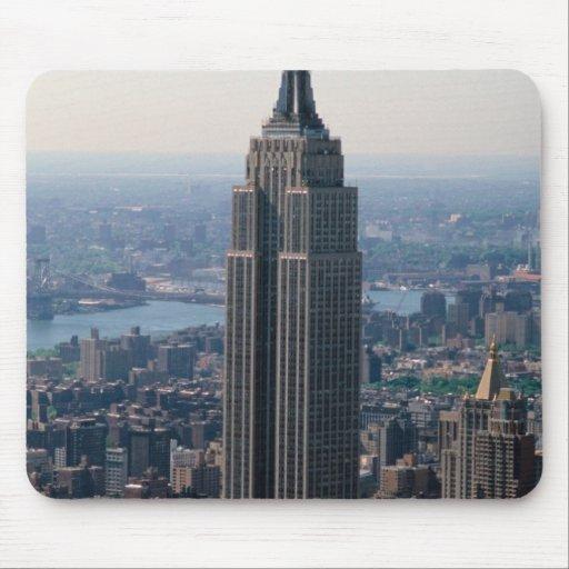 N.A., USA, New York, New York City. The Empire Mousepad