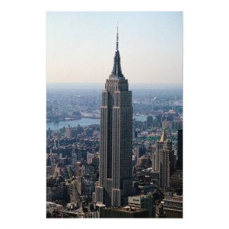 N.A., USA, New York, New York City. The Empire Photo Print