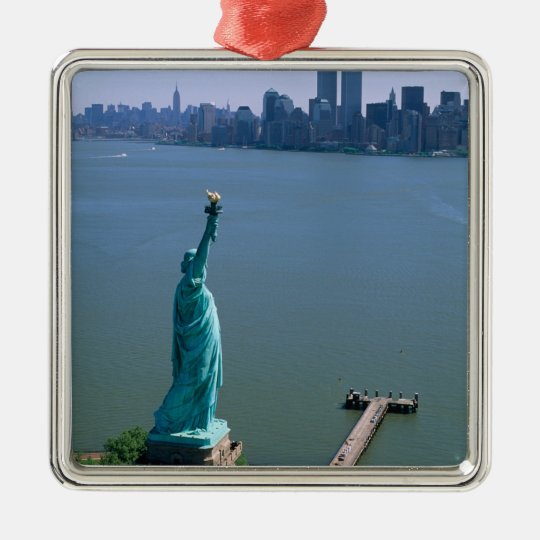 N.A., USA, New York, New York City. The Statue Metal Ornament