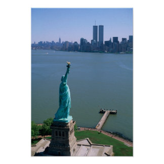 N.A., USA, New York, New York City. The Statue Poster
