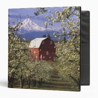 N.A., USA, Oregon, Hood River County. Red Binder
