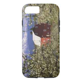 N.A., USA, Oregon, Hood River County. Red iPhone 8/7 Case