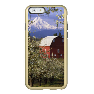 N.A., USA, Oregon, Hood River County. Red Incipio Feather® Shine iPhone 6 Case