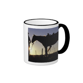 N A USA Oregon Seneca Ponderosa Ranch Mugs