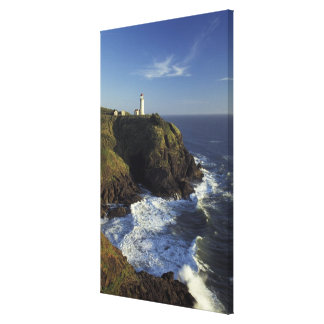 N.A., USA, Washington, Cape Disappointment State Canvas Print
