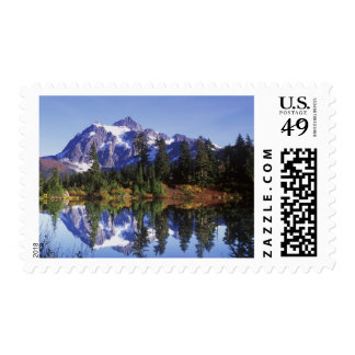 N.A., USA, Washington, Mt. Baker & Snoqualmie Postage Stamp