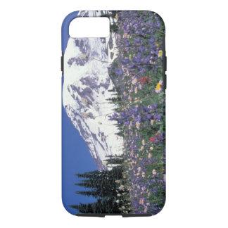 N.A., USA, Washington Mt. Rainier and iPhone 7 Case