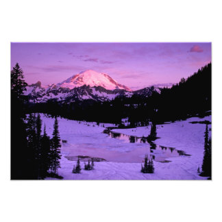 N.A., USA, Washington, Mt. Rainier National 2 Photograph