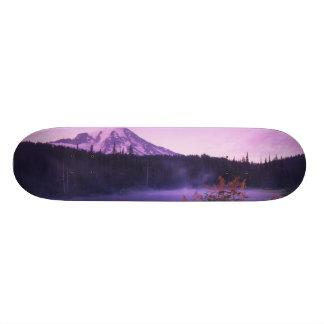 N.A., USA, Washington, Mt. Rainier National Skateboard Deck